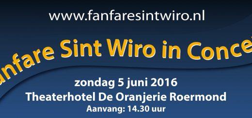 Fanfare St. Wiro in Concert banner